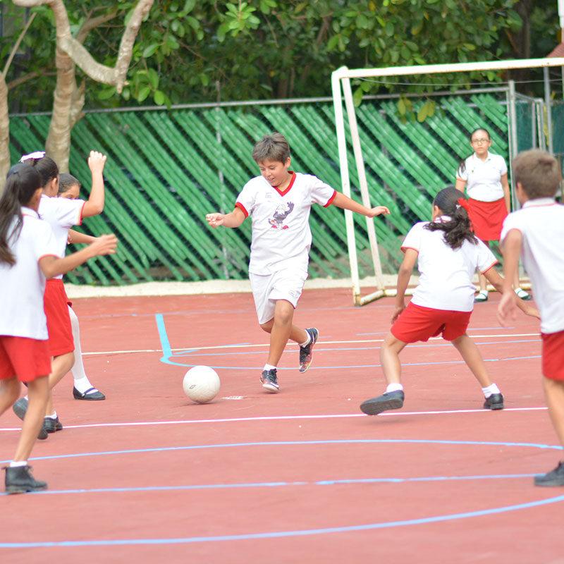 Cancha de Soccer del Colegio