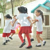 Preescolar kinder Juego Colegio Lowry school Cancún